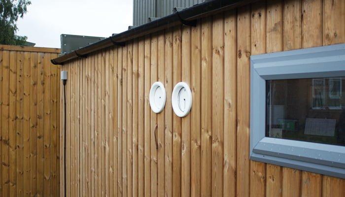 garden building air conditioning