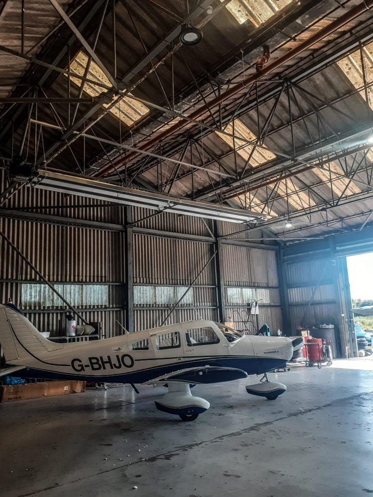 Aircraft Hangar Heating